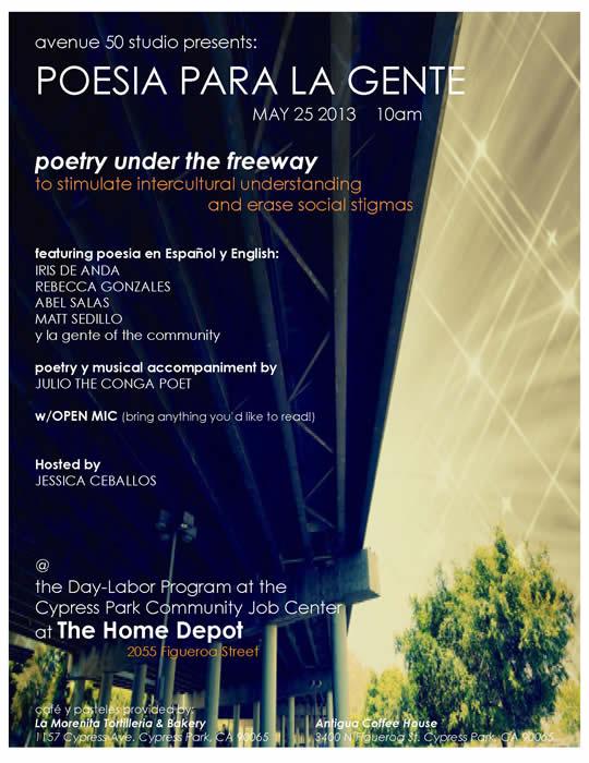 Poesia Para La Gente Under The Freeway Avenue 50 Studio