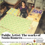 Public Artist- The works of Sonia Romero