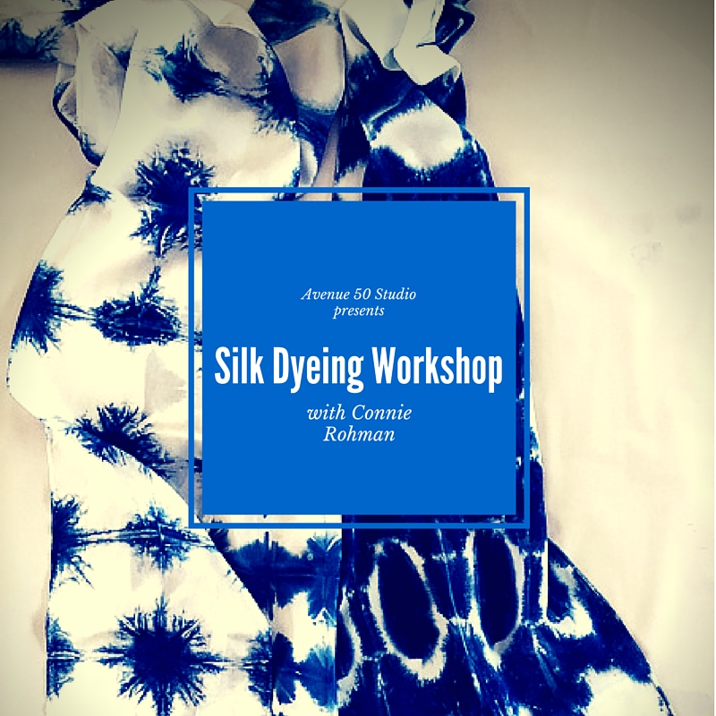 Silk Dyeing Workshop