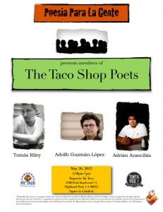 Taco Shop Poets Reading
