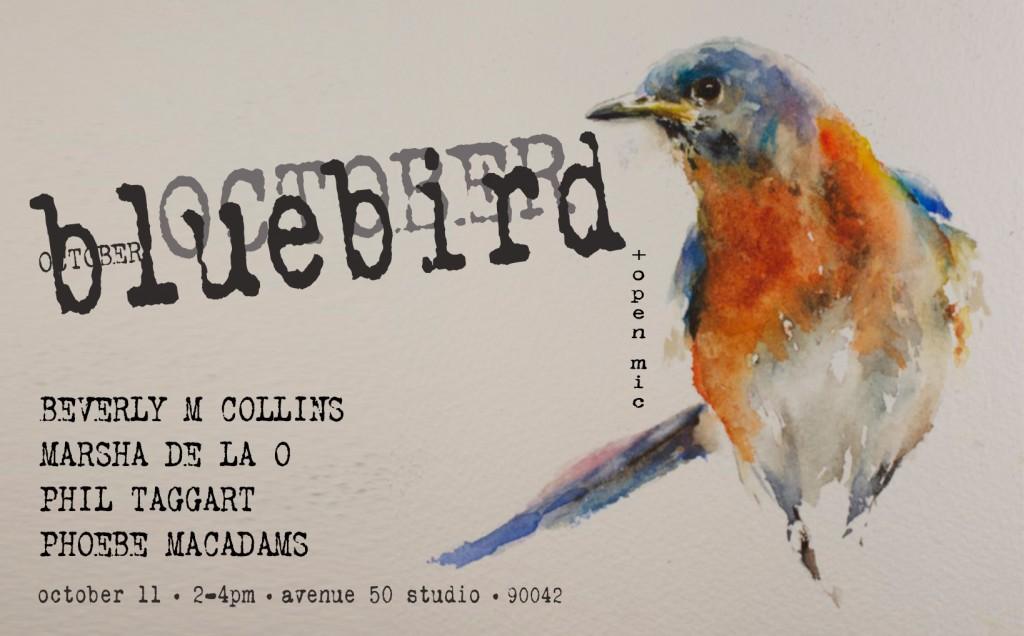 bluebird reading October