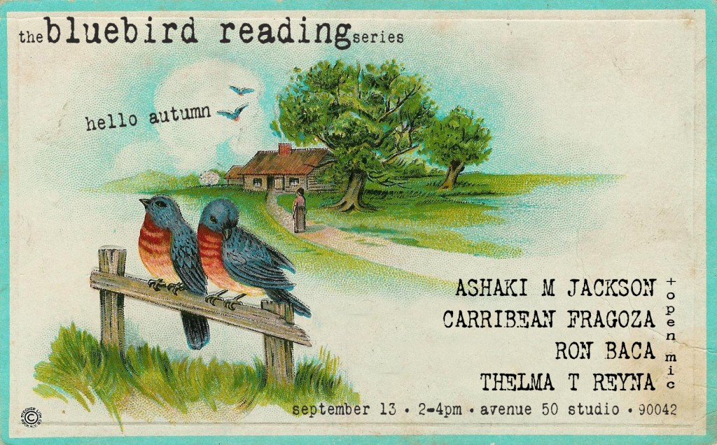 bluebird reading September