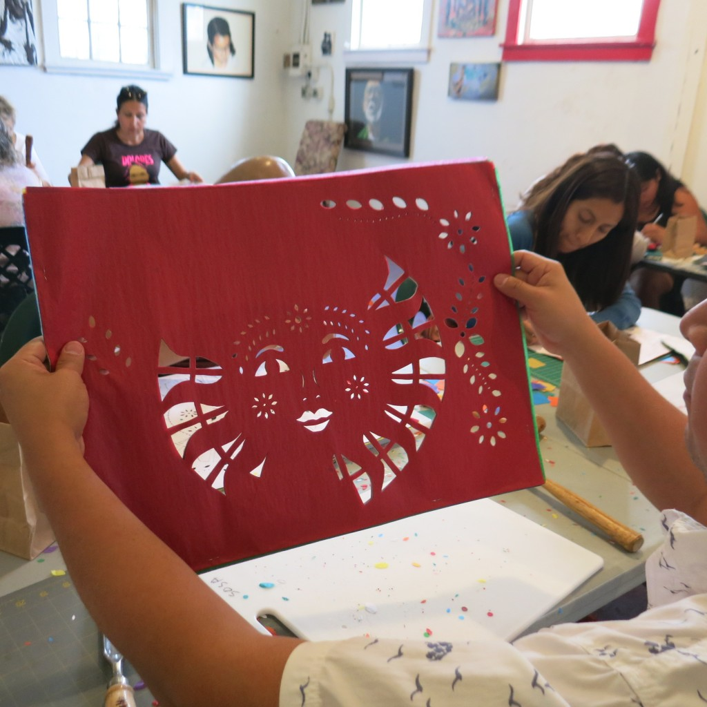 A students work at our 3rd workshop