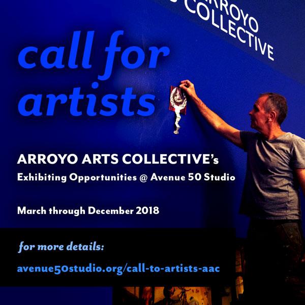 Call to Artists – AAC | Avenue 50 Studio